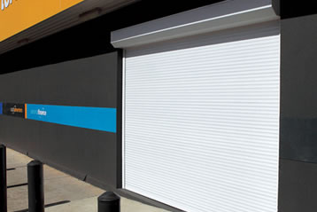 window roller shutter for shop front