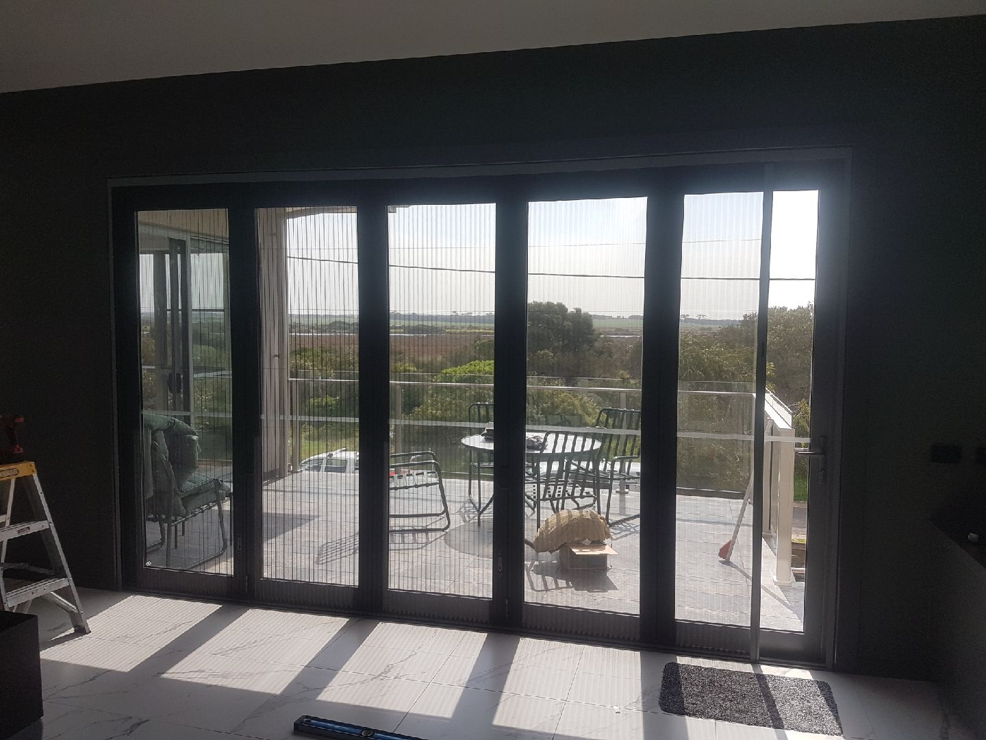 Retractable Pleated Flyscreens Taylor And Stirling Blinds