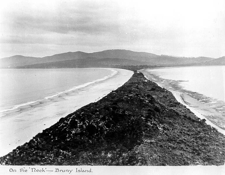 bruny island - the neck