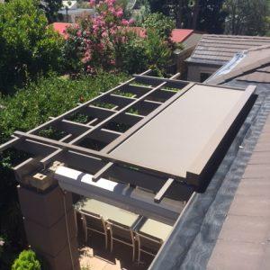 outdoor blinds -retractable roof