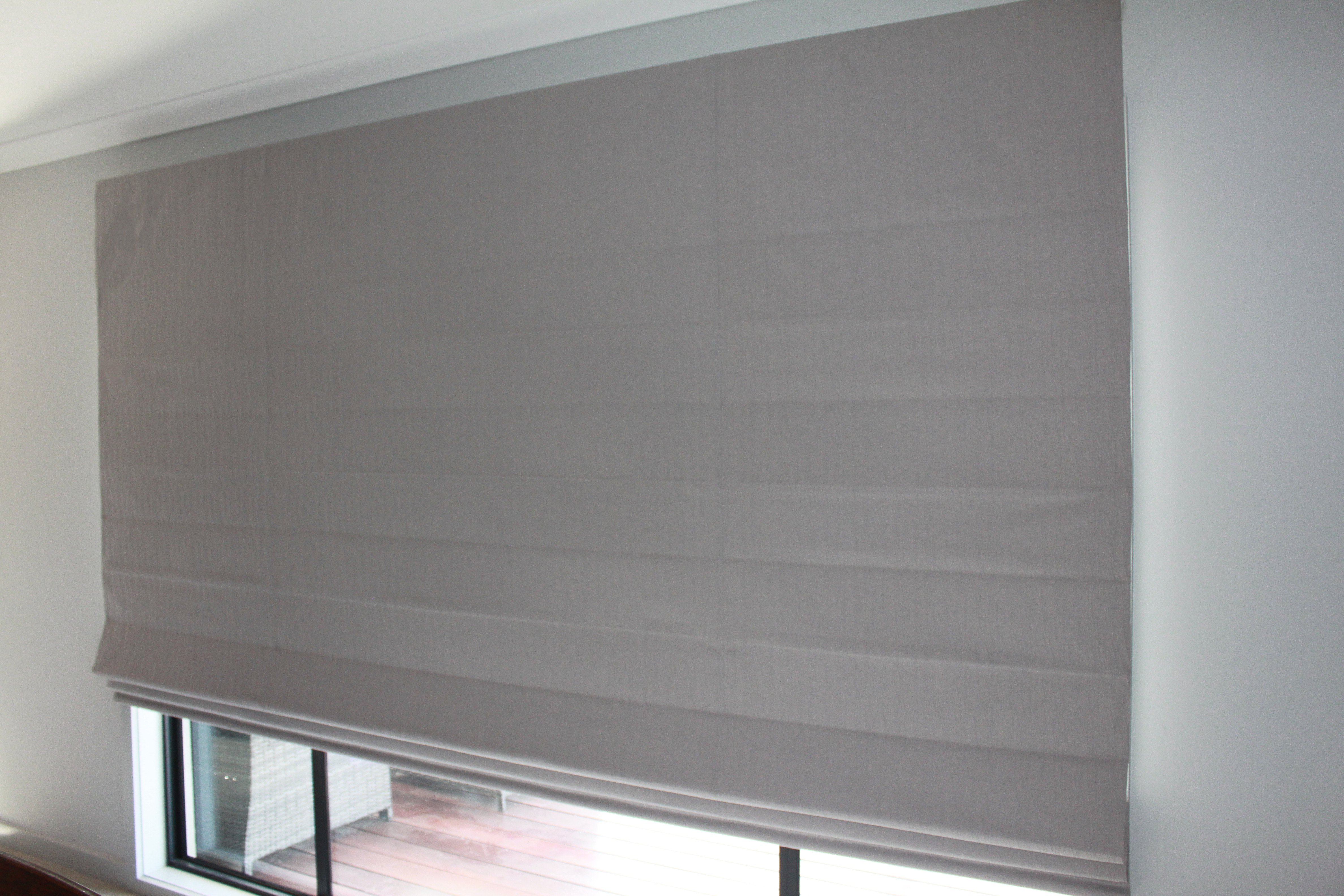 chain tracks to kit blinds white kits headrail operated blind deluxe roman made measure