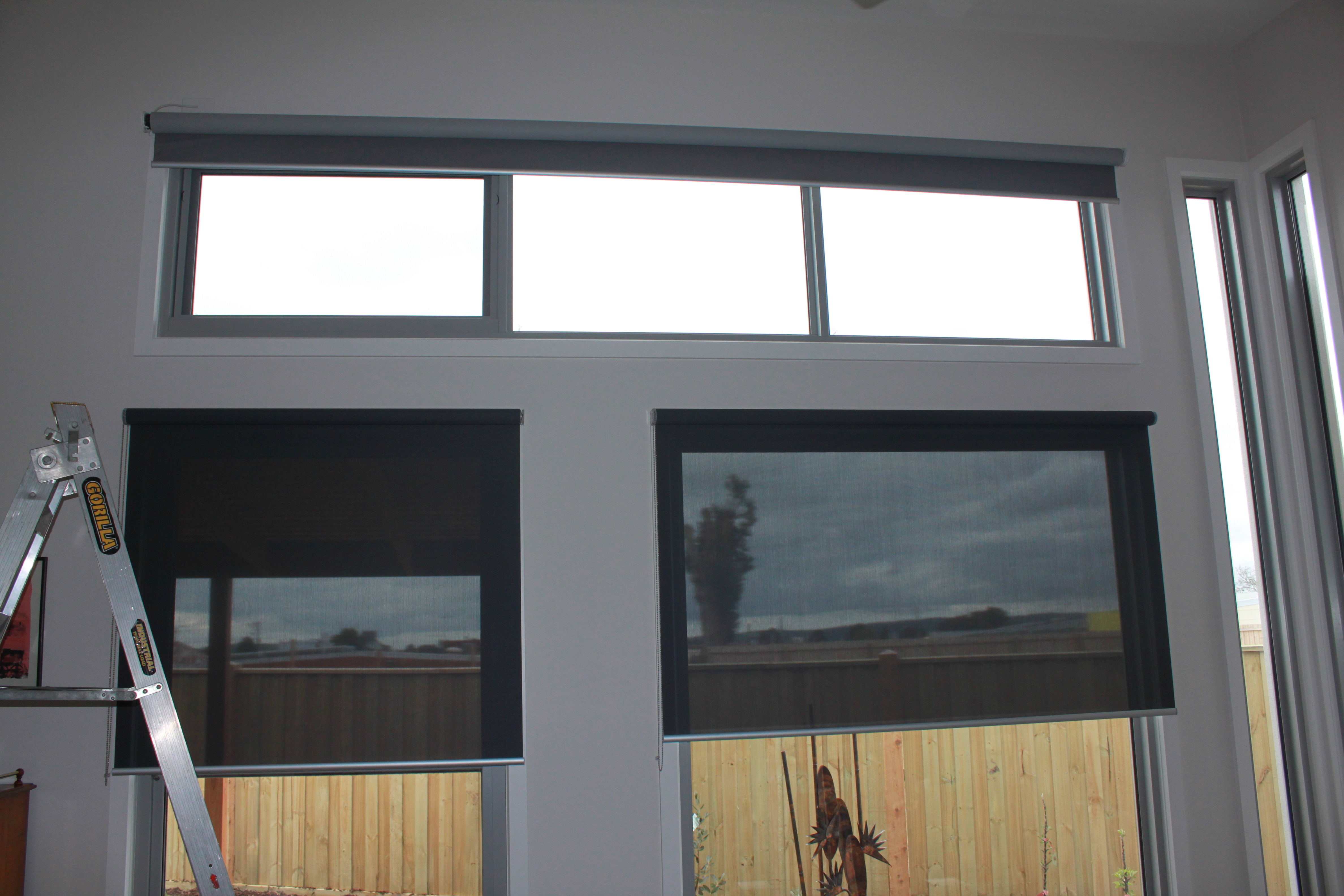 Motorised Wide Roller Blind