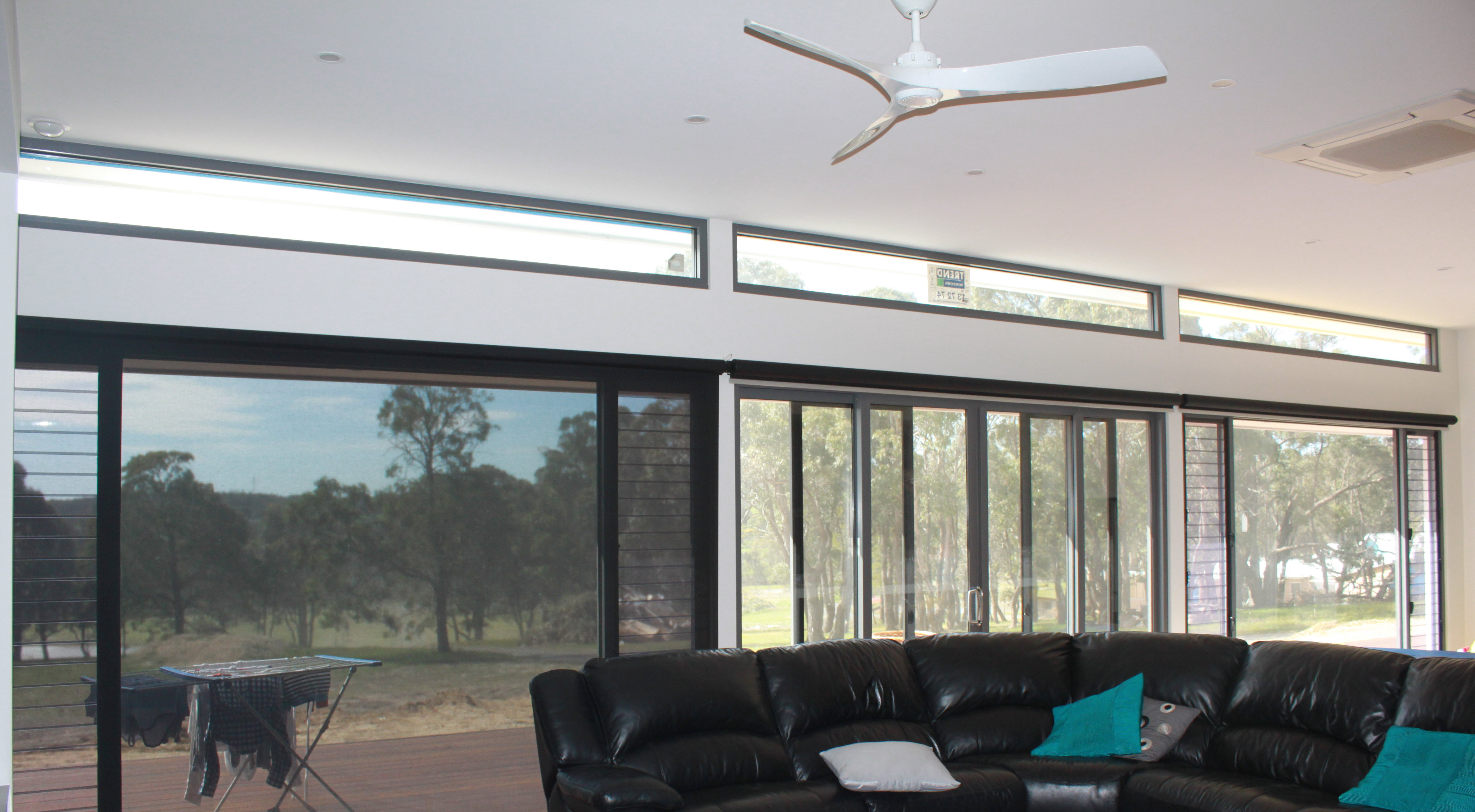 Motorised Large Roller Blind