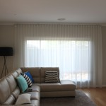 sheer curtians and roller blinds