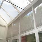 skylight pleated binds