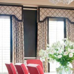 plantation shutters with side drapes