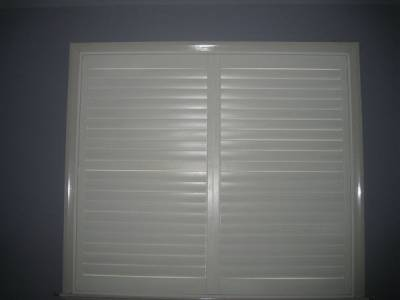 Large Timber Plantation Shutter