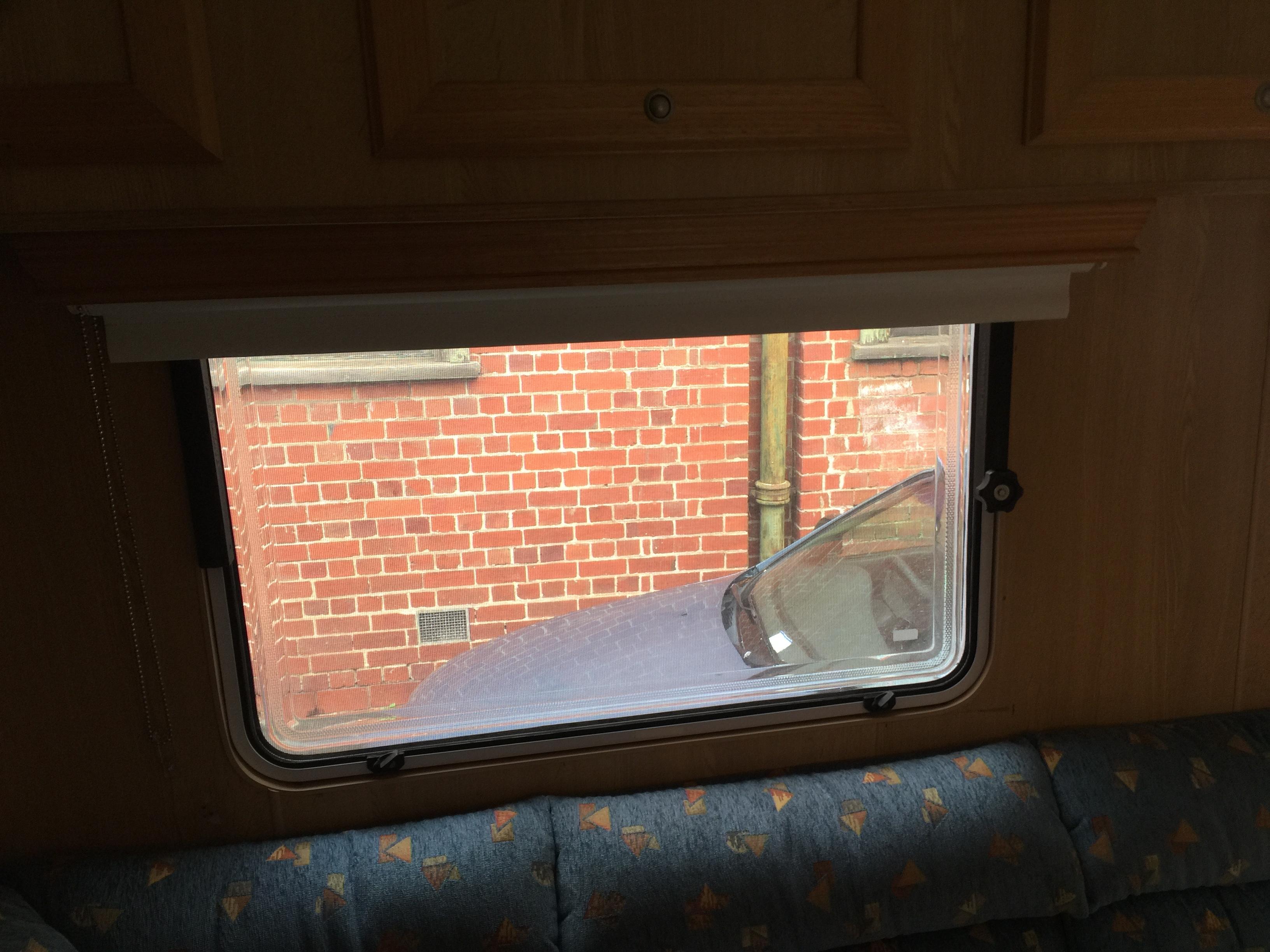 caravan roller blind