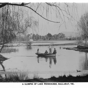 Boat on Lake Wendouree