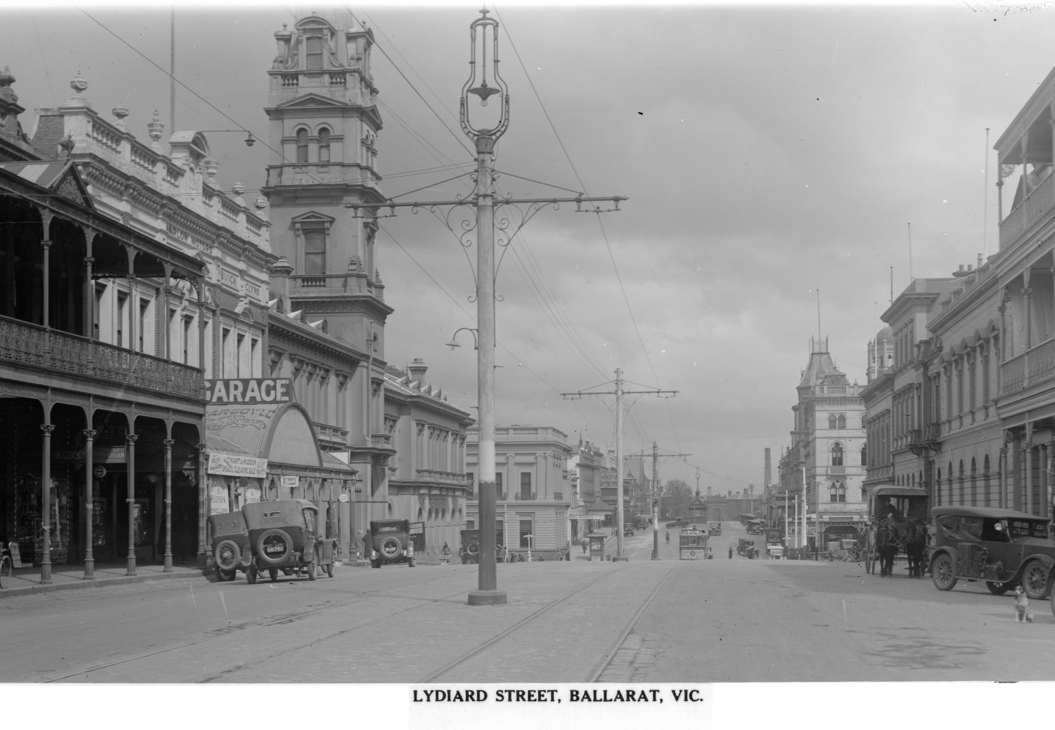 Ballarat lydiard St North