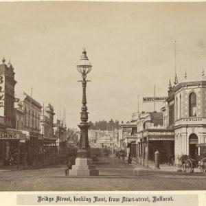 Ballarat Sturt St looking into Mall