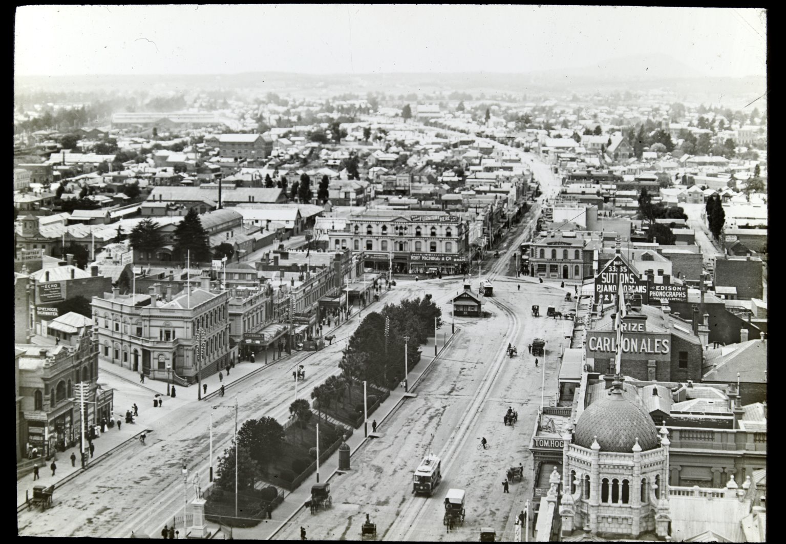 Ballarat Looking West in sturt st