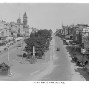 Sturt St Looking West