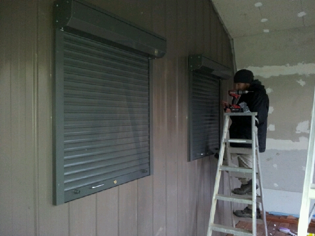 window roller shutter BAL40