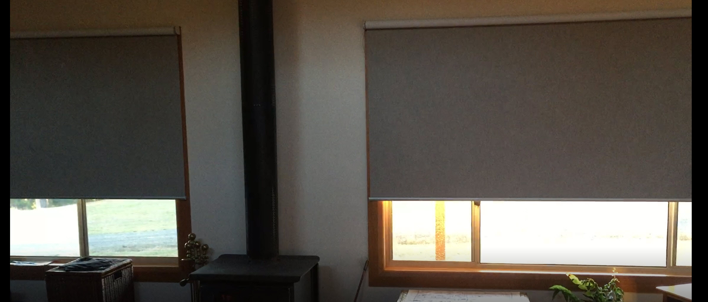 motorised roller blinds bruny island