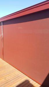 outdoor blinds - zipscreen