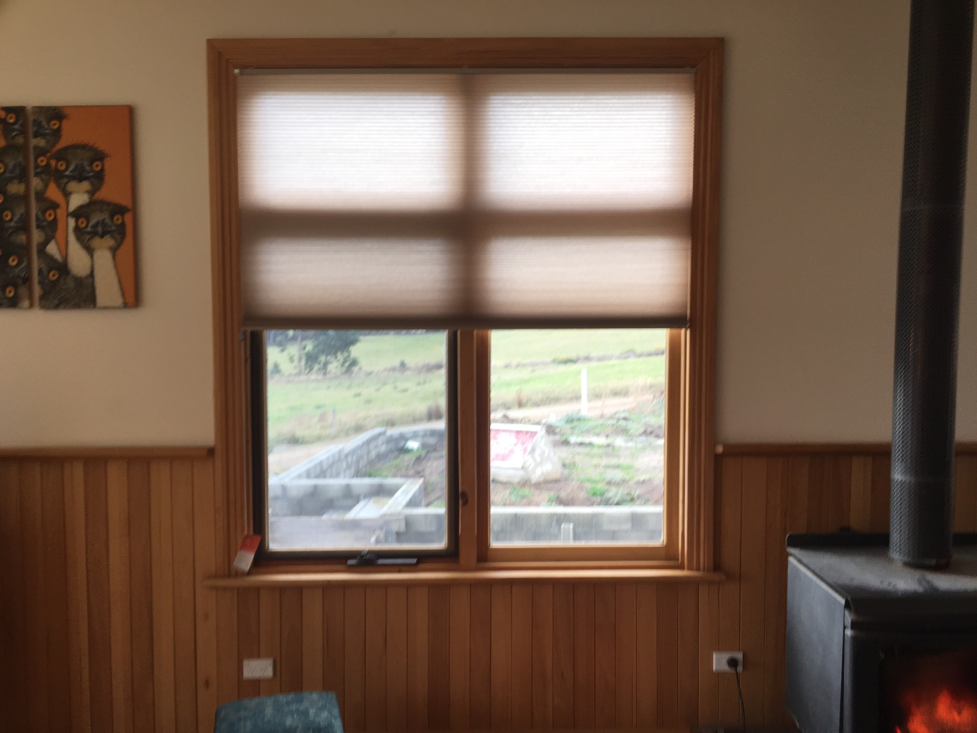 honeycomb blinds bruny island