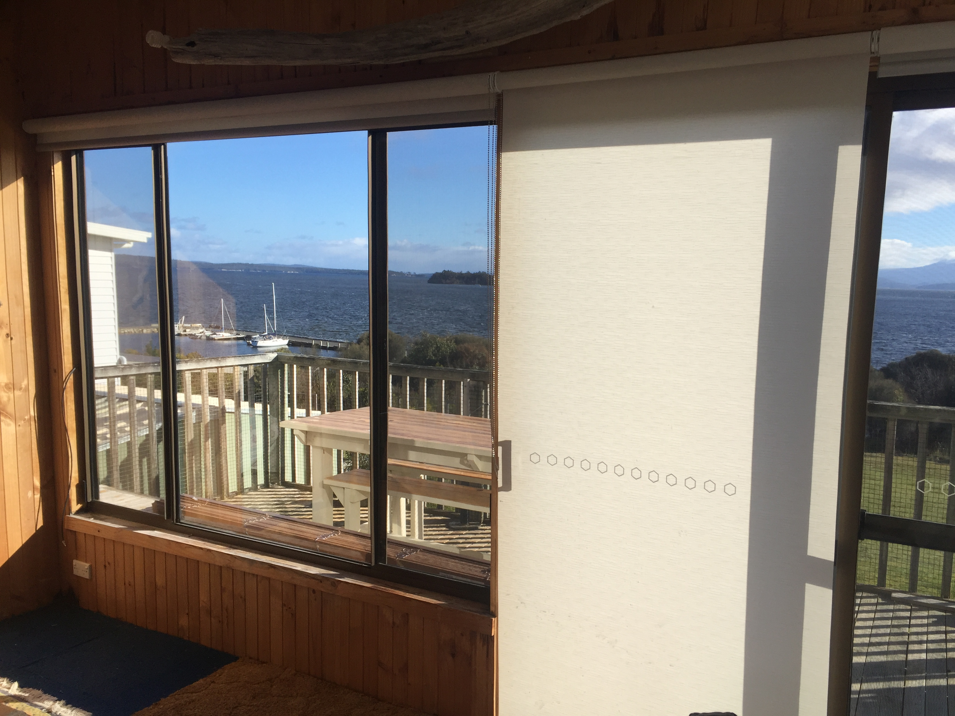 transulcent roller blinds Bruny Island
