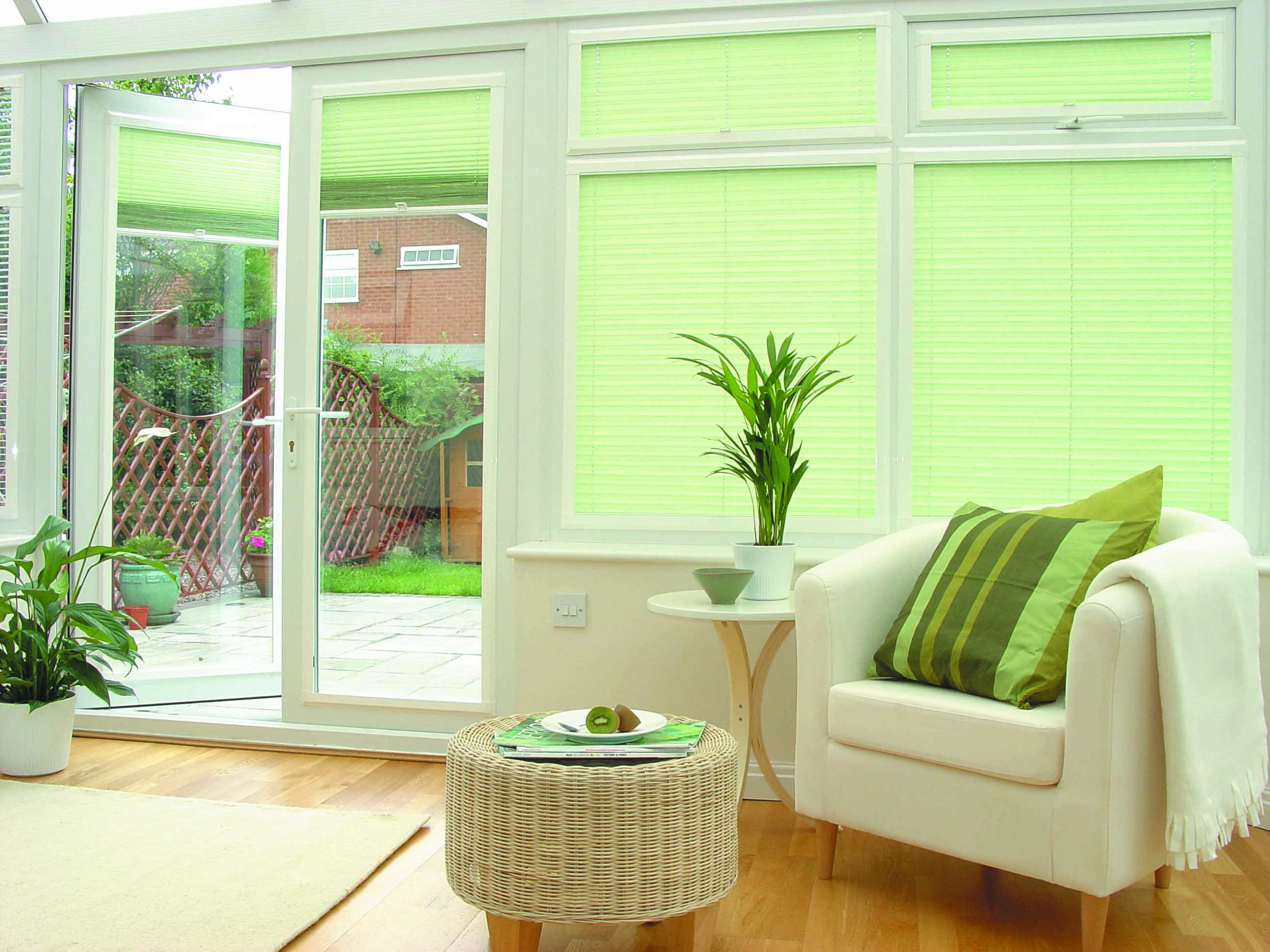 Perfect-Fit blinds for uPVC window