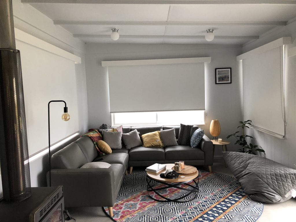 Dual Roller Blinds Bruny Island