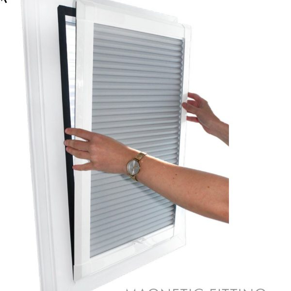 Blinds for tilt and turn windows